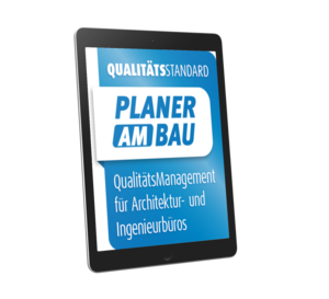 3D-Coverlogo Planer am Bau