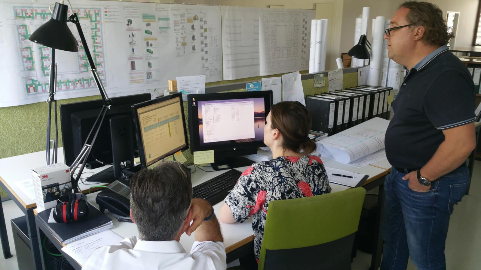 Audit bei Tröger Architekten München